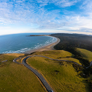 The Catlins: Florence Hill Lookout - Southland, New Zealand