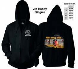 2020 - Beach Race Zip Hoody