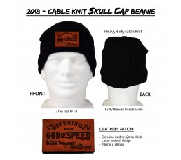 2018 - Cable Knit Skull Cap Beanie