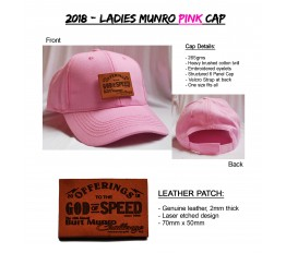 2018 - Ladies Munro Pink Cap
