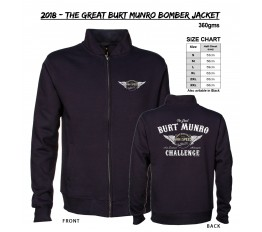 2018 - The Great Burt Munro Bomber Jacket