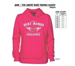 2018 - The Great Burt Munro Hoody