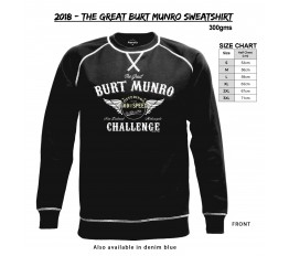 2018 - The Great Burt Munro Sweatshirt