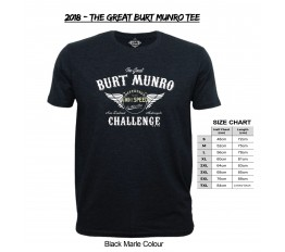 2018 - The Great Burt Munro Tee