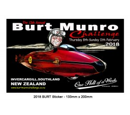 2018 - Burt Munro Sticker