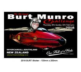 2018 - Burt Munro Sticker